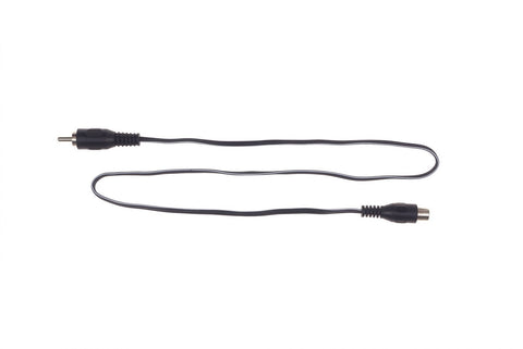 Cioks Extension Flex - RCA to RCA DC Cable 50 cm (1001) - GuitarPusher