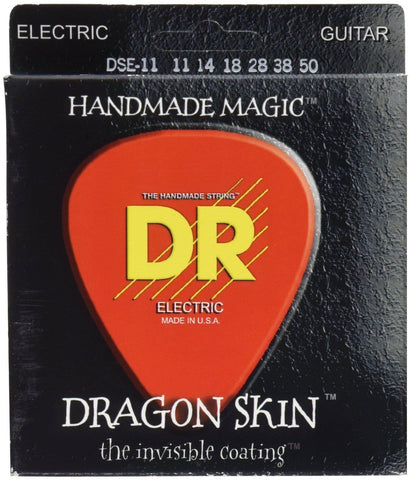 DR Dragon Skin Coated Electric Guitar Strings - GuitarPusher