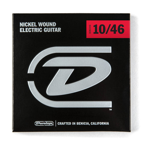 Dunlop Nickel Wound Light Electric Guitar Strings 10-46 (10 13 17 26 36 46)