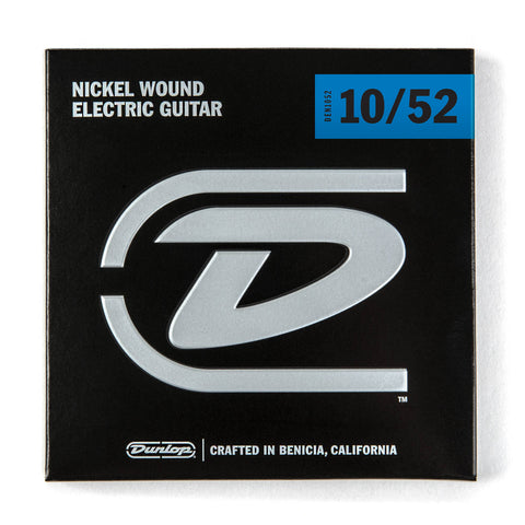 Dunlop Nickel Wound Heavy Bottom Electric Guitar Strings 10-52 (10 13 17 30 42 52)