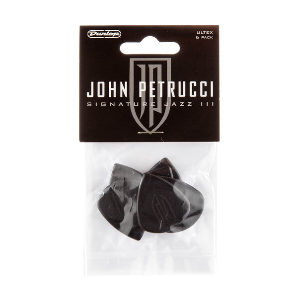Dunlop John Petrucci Jazz III 1.5mm Guitar Pick (6 pcs.) - Black Player's sealed pack