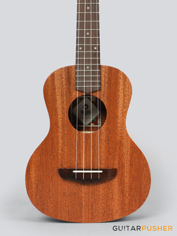 MeiTone E1-T Tenor All-Acacia Ukulele - GuitarPusher
