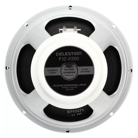 "Celestion F12-X200 12"" 200-Watt Guitar Speaker - GuitarPusher"