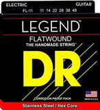 DR Legend Flatwound Electric Guitar Strings - GuitarPusher