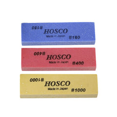 Hosco FPR-SET-3 Fret Polishing Rubber Package Set (FPR180, FPR400, & FPR1000)