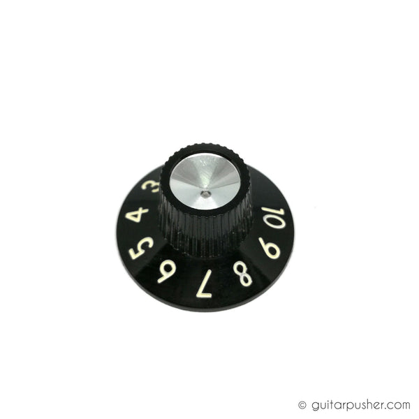 Fender Replacement Knob - Skirted Blackface / Silverface - per pc