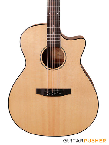 Tyma G-3 NSE (PG-40CE) Solid Top Auditorium Acoustic-Electric Guitar with T-200 preamp