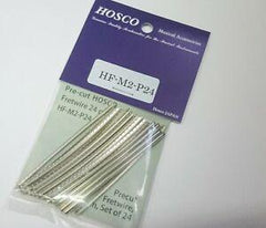 Hosco Precut Fretwire (24 pcs in 7cm lengths, 300mm radius) - GuitarPusher