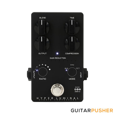 Darkglass Hyper Luminal Bass Compressor Pedal - GuitarPusher