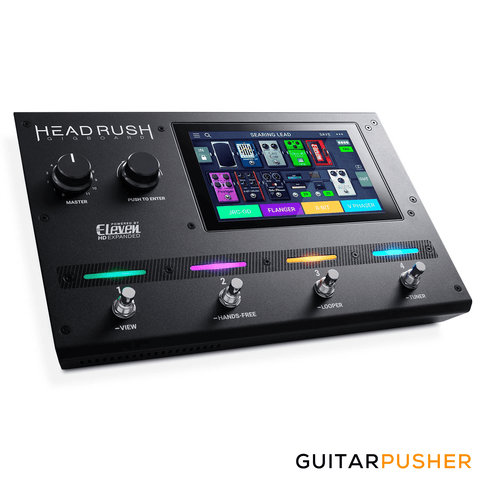 Headrush Gigboard Compact Guitar Effects Processor & Amp Modeler - GuitarPusher