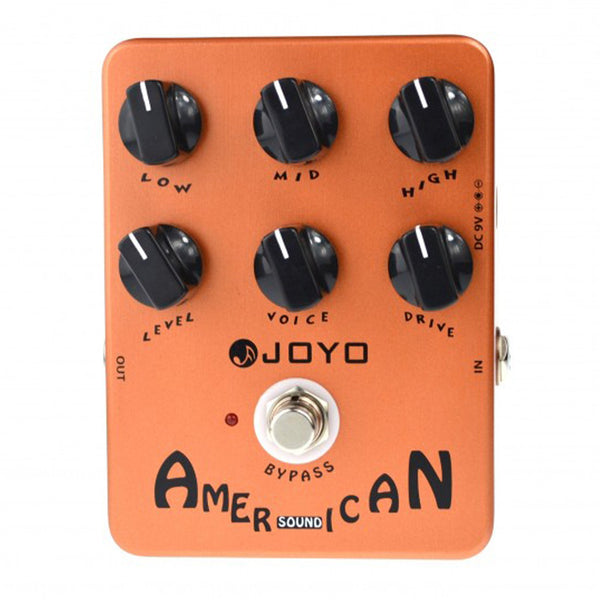 Joyo JF-14 American Sound Overdrive Pedal 57 Deluxe Sound