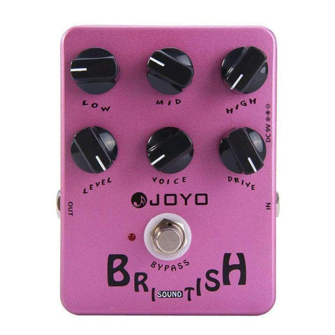Joyo JF-16 British Sound Marshall Inspired Tone Drive Pedal - GuitarPusher