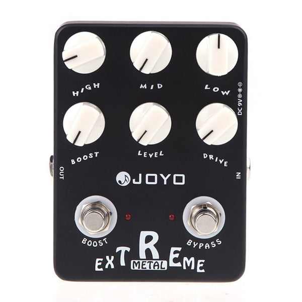 Joyo JF-17 Extreme Metal, High-Gain Drive with 3-Band EQ and Gain Boost