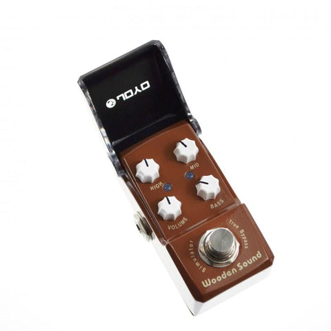 Joyo JF-323 Iron Man Wooden Sound Acoustic Simulator - GuitarPusher