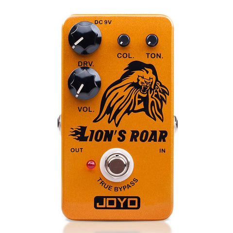 Joyo JF-MK Lion's Roar Mike Kerr Signature Overdrive Pedal - GuitarPusher