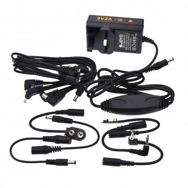 Joyo JP-03 Power Supply Adaptor with 8 Daisy Chain 2000mA