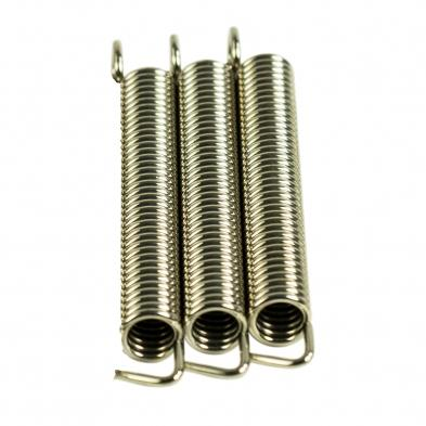 Kluson Tremolo Springs [Set of 3] - Chrome - GuitarPusher