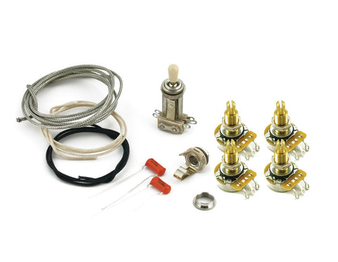WD Upgrade Wiring Harness Kit for Les Paul Style Guitars on