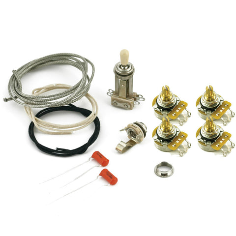 WD Upgrade Wiring Harness Kit for Les Paul Style Guitars ... on