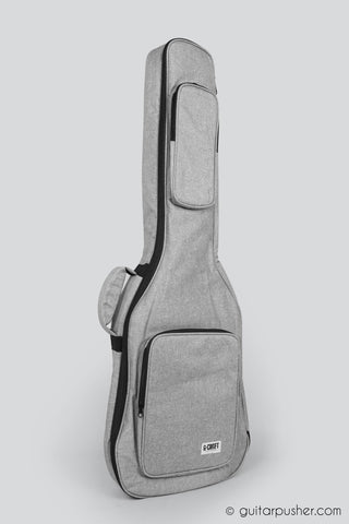 G-Craft LUX Lite B Padded Gig Bag for Bass Guitar - GuitarPusher