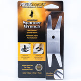 Music Nomad Premium Spanner Wrench with Microfiber Sude Backing MN224 - GuitarPusher