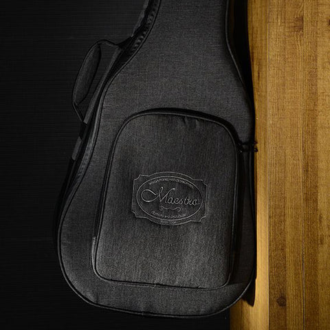 Maestro Premium Acoustic Guitar Gig Bag Standard Size 30mm Grey