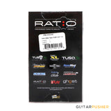 Graphtech Ratio 4-String 4-in-Line Y-Style Bass Machine Heads PRB-4400-B0 PRB-4400-C0
