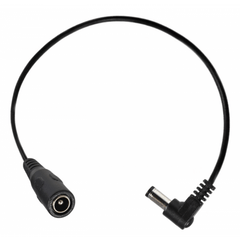 Power All Angled Barrel Adaptor Cable 10.5 inches - GuitarPusher