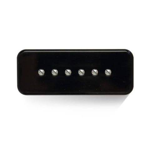 Bareknuckle Pickup Cover for P90 Soapbar BLACK - GuitarPusher