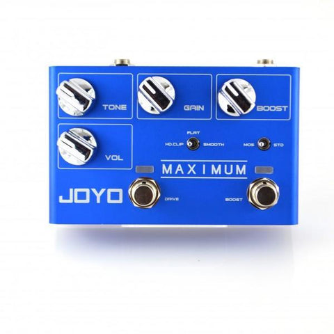 JOYO R-05 Maximum Mosfet Overdrive Guitar Effect Pedal - GuitarPusher