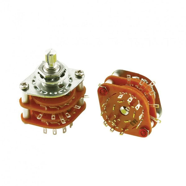 WD 4-Pole Rotary Switch 5-Position