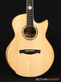 Maestro Custom Series Raffles-FM CSB A Adirondack Spruce/Flamed Maple