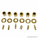 Graphtech Ratio Acoustic 3+3 Contemporary 2 Pin - Gold PRN-2411-GO