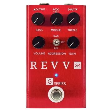 Revv G4 - Preamp/Overdrive/Distortion Pedal - GuitarPusher