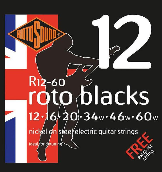 Rotosound Custom Gauge Nickel Electric Guitar String Set