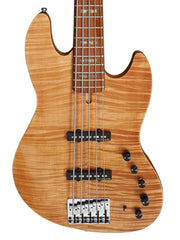 Sire V10 Swamp Ash 5-String Bass Guitar (2nd gen) with Premium Gig Bag