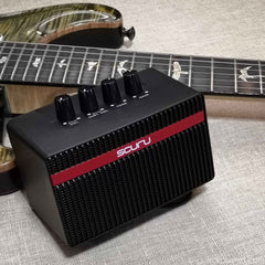 Scuru S1 Rechargeable 2-channel Mini Amp for Electric Guitar