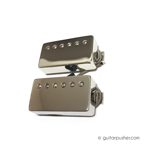 Bareknuckle Stormy Monday Calibrated Humbucker Set, Nickel