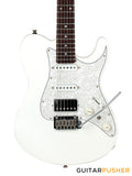 Tagima Brazil Series T-930 HSS Telecaster (White) Rosewood Fingerboard/Pearl White Pickguard