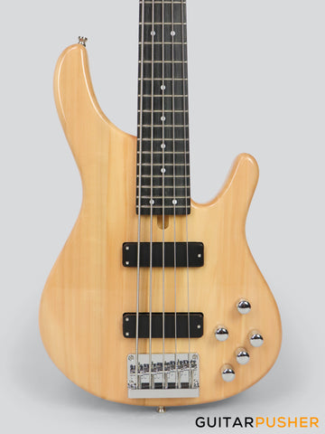 Tagima Millenium Top 5-string Bass with Active EQ - Natural