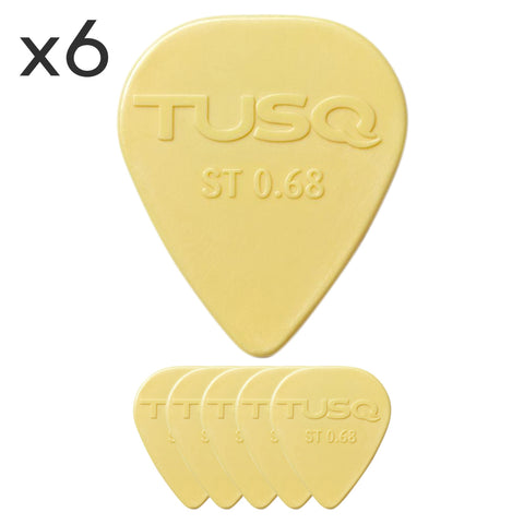 Graphtech TUSQ Standard Pick 6 Pack - GuitarPusher