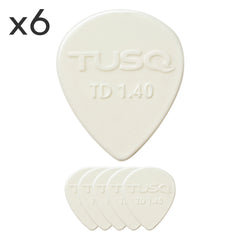 Graphtech TUSQ Tear Drop Pick 6 Pack
