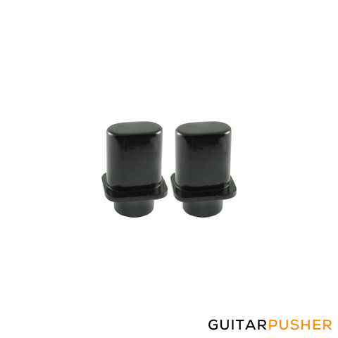 Fender Top Hat Tele Switch Tip (Black) - Set of 2 (099-4937-000)