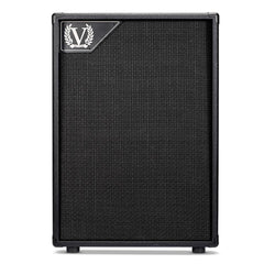 Victory Amps 2x12 16-ohms Compact Vertical Extension Speaker Cabinet w/ Celestion V30's - GuitarPusher