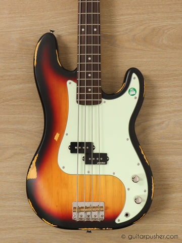 Vintage Icon V4 P Bass - GuitarPusher