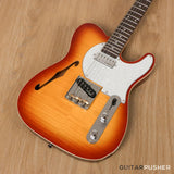 Vintage V72 Custom Spec Hardtail Semi-Hollow Telecaster - GuitarPusher