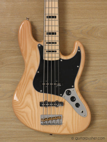 Vintage VJ75 Maple Board Reissued Bass Guitar - GuitarPusher
