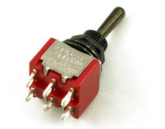 WD On-On-On Mini Toggle Switch - GuitarPusher