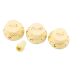 WD Strat Knob Set with Switch Tip - GuitarPusher