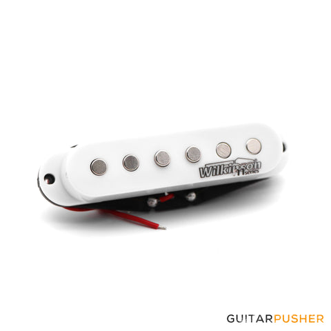 "Wilkinson m series ""Low Gauss"" Hot Ceramic MIDDLE Stratocaster Pickup"
